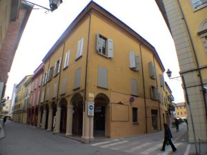 La sede del Consorzio dei Partecipanti di San Giovanni in Persiceto